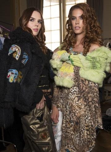 Ewa Minge Fall 2017 Couture Fashion Show Backstage
