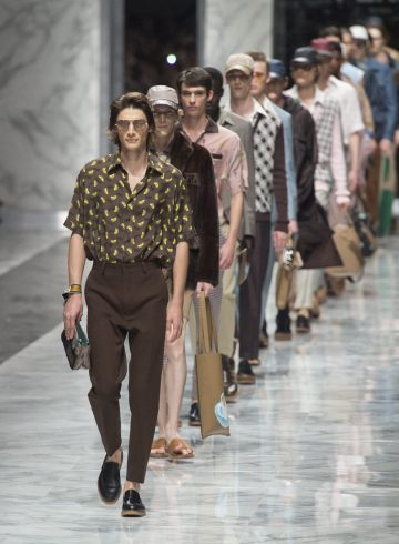 Fendi Spring 2018 Men's Fashion Show Atmosphere