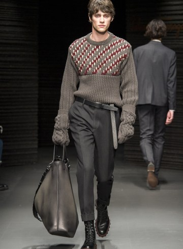 Salvatore Ferragamo Fall 2017 Menswear Fashion Show