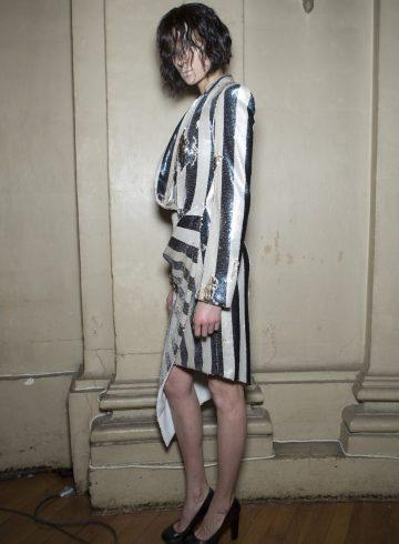 Julien Fournié Spring 2017 Couture Fashion Show Backstage