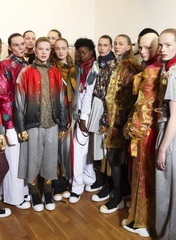 Liselore Frowijn Fall 2017 Fashion Show Backstage Cont.