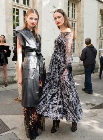 Galia Lahav Fall 2017 Couture Fashion Show Backstage