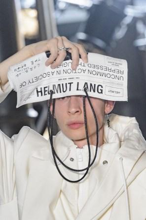 Helmut Lang by Shyne Oliver