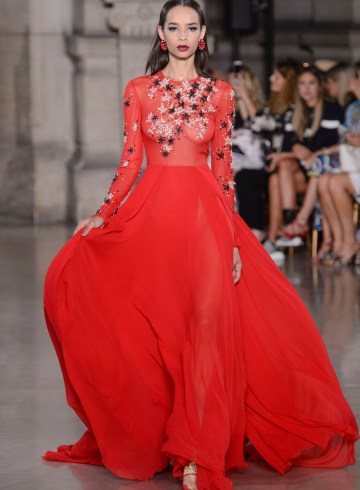 Georges Hobeika Fall 2017 Couture Fashion Show