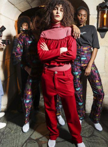 Jour/Ne Fall 2017 Fashion Show Backstage Cont.