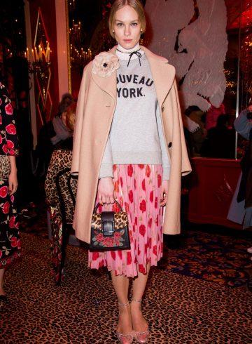 Kate Spade Fall 2017 Fashion Show