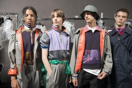 Lanvin 2018 Men's Fashion Show Backstage
