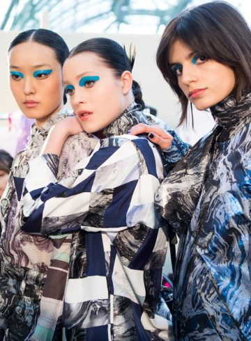 Leonard Fall 2017 Fashion Show Backstage