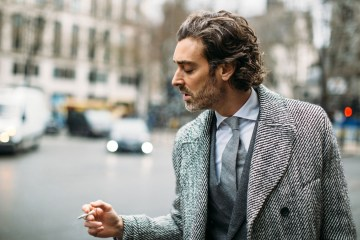 London Men's Fashion Week Street Style Day 2 Fall 2017