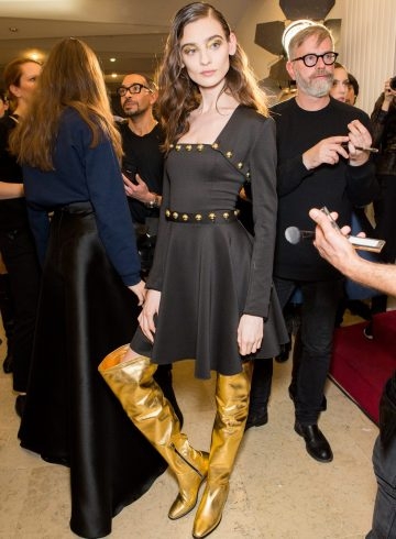Alexis Mabille Fall 2017 Fashion Show Backstage