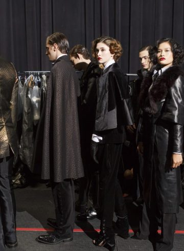 Malan Breton Fall 2017 Fashion Show Backstage