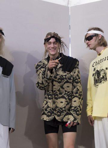 Malibu 1992 Spring 2018 Fashion Show Backstage