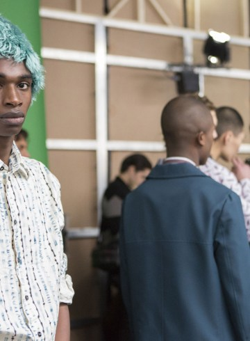 Marni Fall 2017 Menswear Fashion Show Backstage