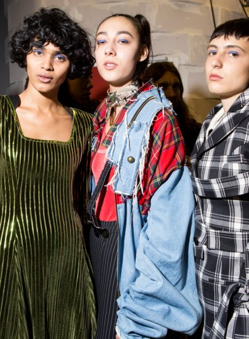 Masha Ma Fall 2017 Fashion Show Backstage