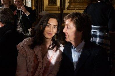 Nancy Shevell & Sir Paul McCartney at Stella McCartney