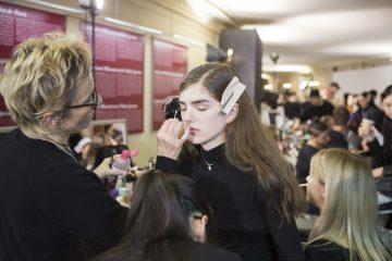 Stella McCartney Fall 2017 Fashion Show Backstage Beauty