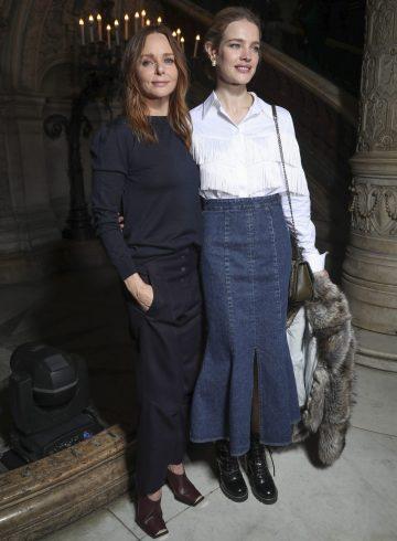 Stella McCartney Fall 2017 Fashion Show Front Row