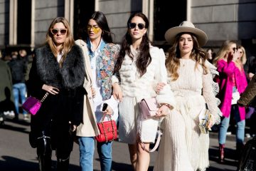 Milan Fashion Week Fall 2017 Street Style Day 4