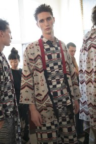 mens spring 2018 art trend white mountaineering backstage