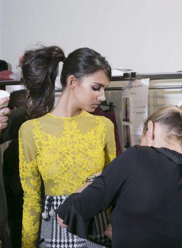Zuhair Murad Fall 2017 Fashion Show Backstage