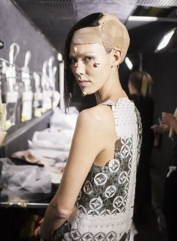 Yuima Nakazato Spring 2017 Couture Fashion Show Backstage