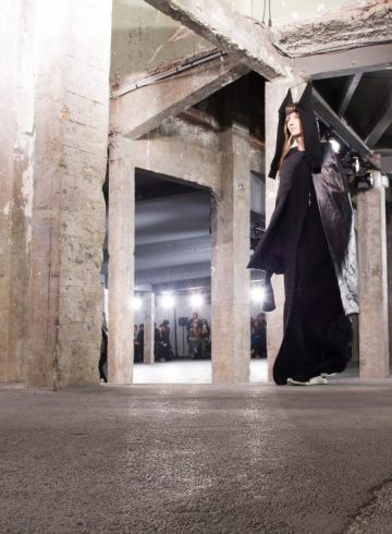 Rick Owens Fall 2017 Fashion Show Atmosphere