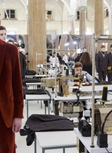 Pal Zileri Fall 2017 Menswear Fashion Show