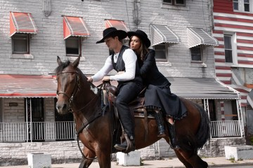 The Pale Horseman starring Joan Smalls & Bonner Bolton