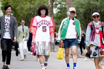 Paris Fashion Week Men's Street Style Spring 2018 Day 3