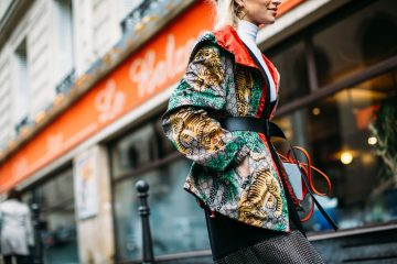 Paris Fashion Week Fall 2017 Street Style Day 7 Cont.