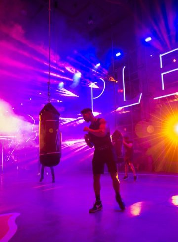 Plein Sport Spring 2018 Men's Fashion Show Atmosphere