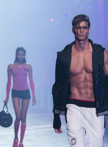 Plein Sport Spring 2018 Fashion Show