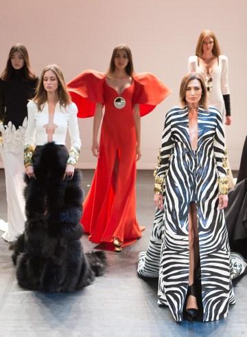 Stephane Rolland Fall 2017 Couture Fashion Show