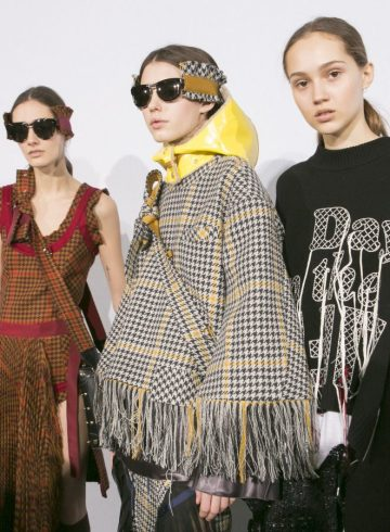 Sacai Fall 2017 Fashion Show Backstage