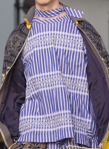 Sacai Spring 2018 Men's Fashion Show Details