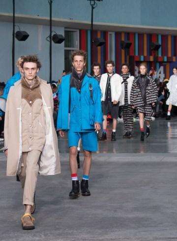 Sacai Spring 2018 Men's Fashion Show