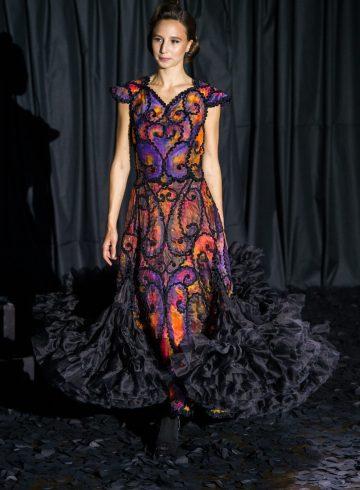 Franck Sorbier Fall 2017 Couture Fashion Show