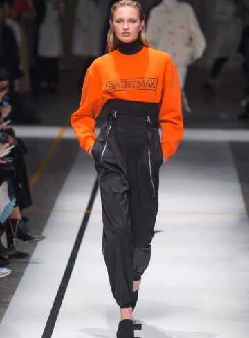Sportmax Fall 2017 Fashion Show