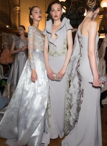 Tony Ward Fall 2017 Couture Fashion Show Backstage