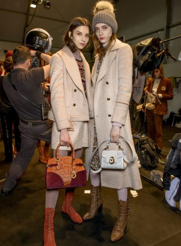 Trussardi Fall 2017 Fashion Show Backstage Beauty