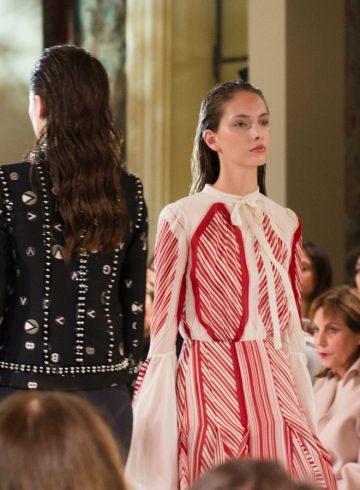 Giambattista Valli Fall 2017 Fashion Show Atmosphere
