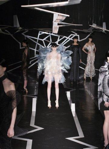 Iris Van Herpen Spring 2017 Couture Fashion Show Atmosphere