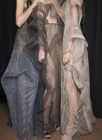 Iris Van Herpen Fall 2017 Couture Fashion Show Backstage
