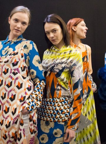 Dries Van Noten Fall 2017 Fashion Show Backstage