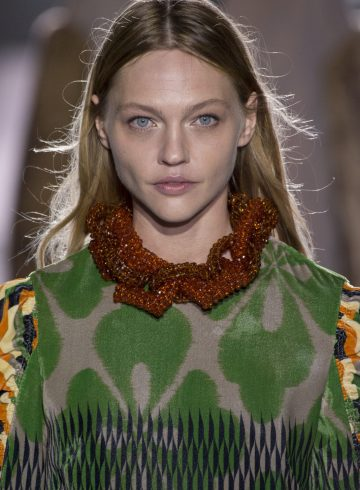 Dries Van Noten Fall 2017 Fashion Show Beauty