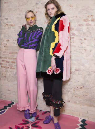 Vivetta Fall 2017 Fashion Show Backstage