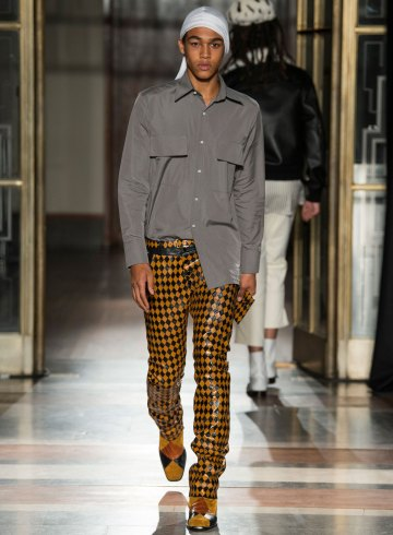 Wales Bonner Fall 2017 Menswear Fashion Show