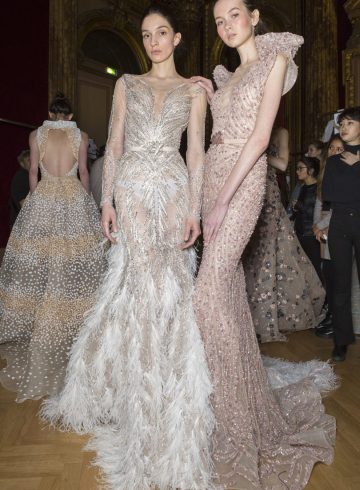 Ziad Nakad Spring 2017 Couture Fashion Show Backstage