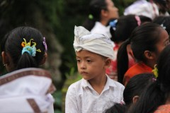Hindu Child at Procession
