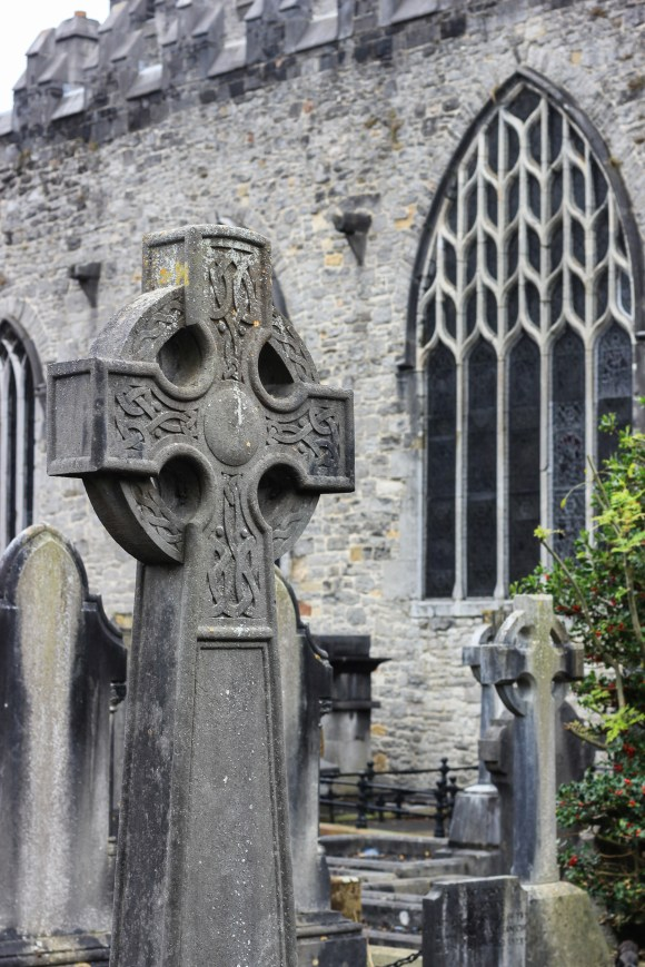 Celtic High Cross, St. Mary's Cathedral, Limerick